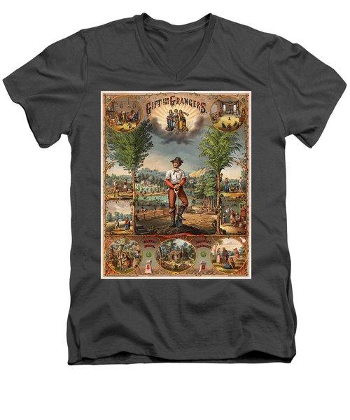 Gift For The Grangers Promotional Poster 1873 Men's V-Neck T-Shirt
