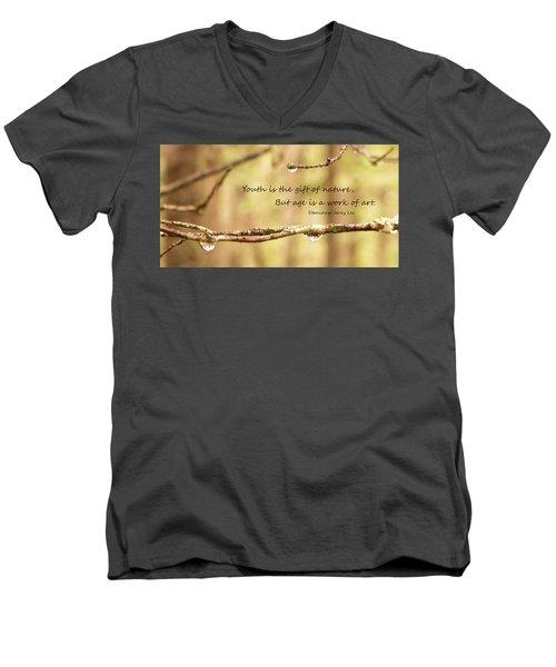 Gift Of Art Men's V-Neck T-Shirt