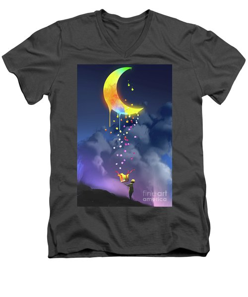 Gifts From The Moon Men's V-Neck T-Shirt