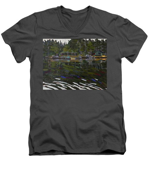 Gilmour Island Men's V-Neck T-Shirt