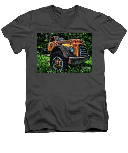Jimmy Diesel Men's V-Neck T-Shirt