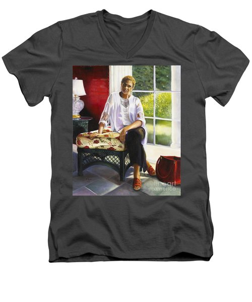 Girl Talk Men's V-Neck T-Shirt