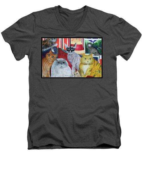 Girls Night Out Men's V-Neck T-Shirt
