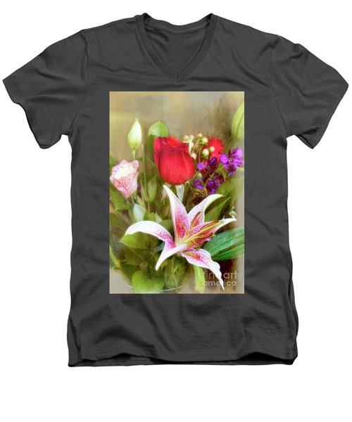 Given With Love Men's V-Neck T-Shirt