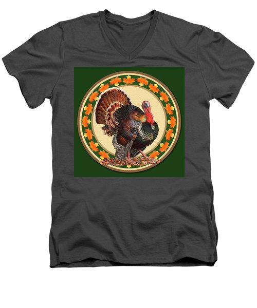 Giving Thanks Men's V-Neck T-Shirt