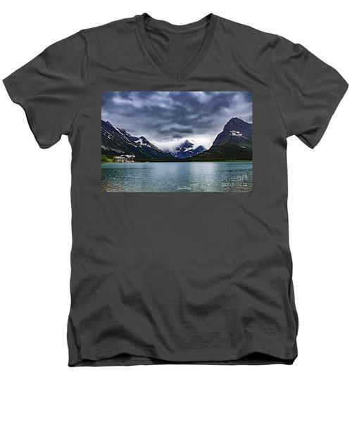 Glacial Getaway Men's V-Neck T-Shirt
