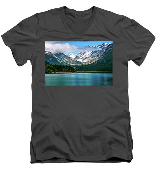 Glacial Valley Men's V-Neck T-Shirt