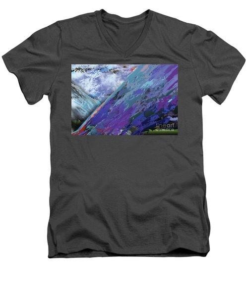 Glacial Vision Men's V-Neck T-Shirt
