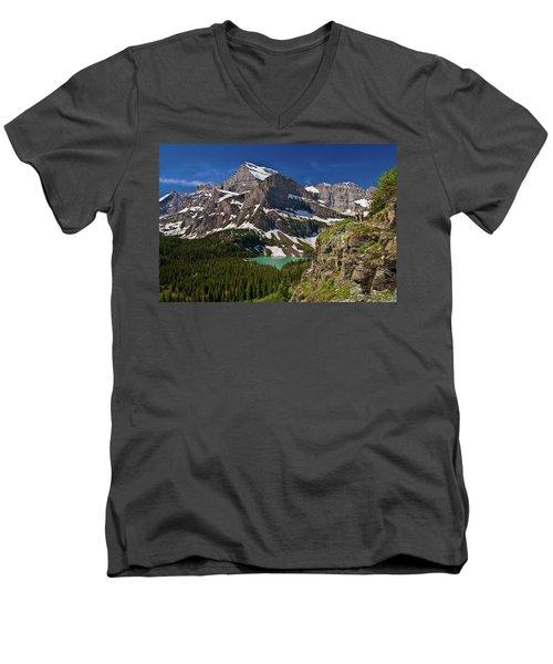 Glacier Backcountry 2 Men's V-Neck T-Shirt