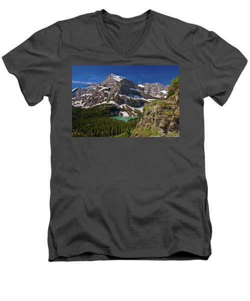 Glacier Backcountry 2 Men's V-Neck T-Shirt