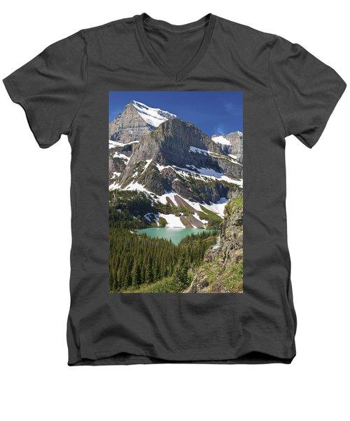 Glacier Backcountry Men's V-Neck T-Shirt