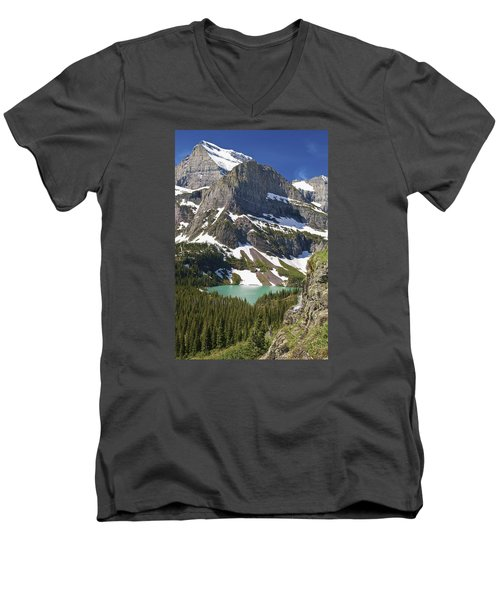 Glacier Backcountry Men's V-Neck T-Shirt