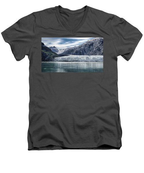 Glacier Bay Alaska Men's V-Neck T-Shirt