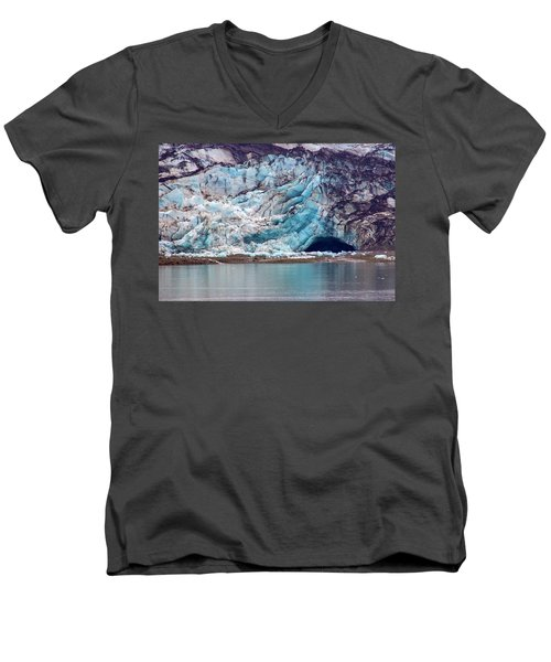 Glacier Cave Men's V-Neck T-Shirt