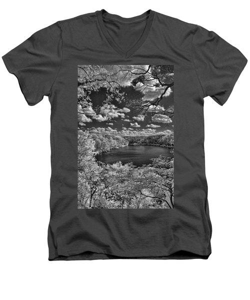 Glacier Lake Men's V-Neck T-Shirt