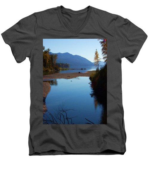 Glacier Park 10 Men's V-Neck T-Shirt