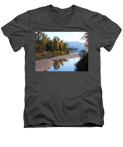 Glacier Park 12 Men's V-Neck T-Shirt