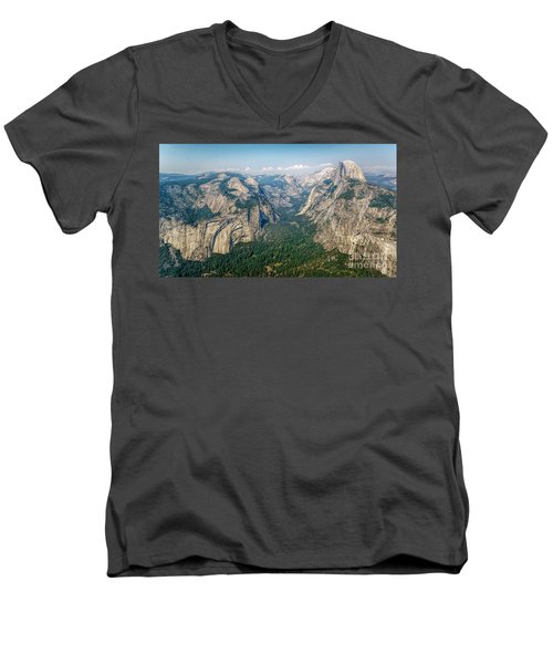 Glacier Point Yosemite Np Men's V-Neck T-Shirt