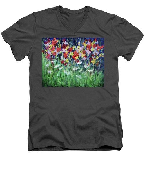 Glad All Over Men's V-Neck T-Shirt