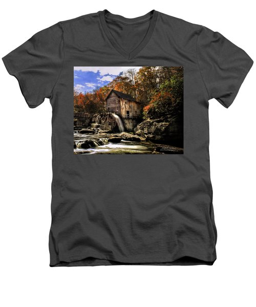 Glade Creek Grist Mill Men's V-Neck T-Shirt