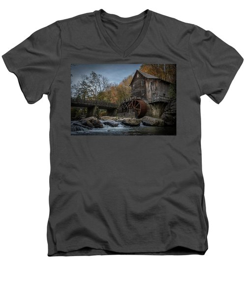 Glade Creek Water Wheel Men's V-Neck T-Shirt