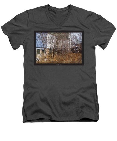 Glass Block Men's V-Neck T-Shirt