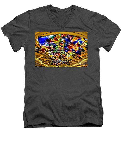 Glass Flowers Men's V-Neck T-Shirt