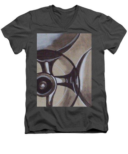 Glasses Men's V-Neck T-Shirt