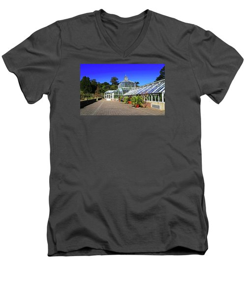 Glasshouse Entrance Men's V-Neck T-Shirt
