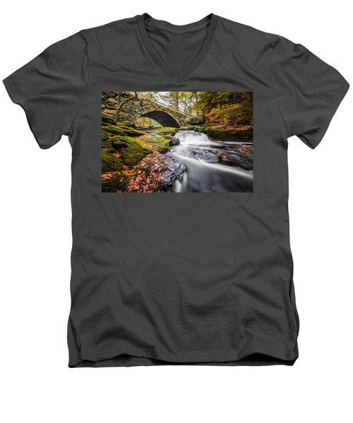 Gleason Falls Men's V-Neck T-Shirt