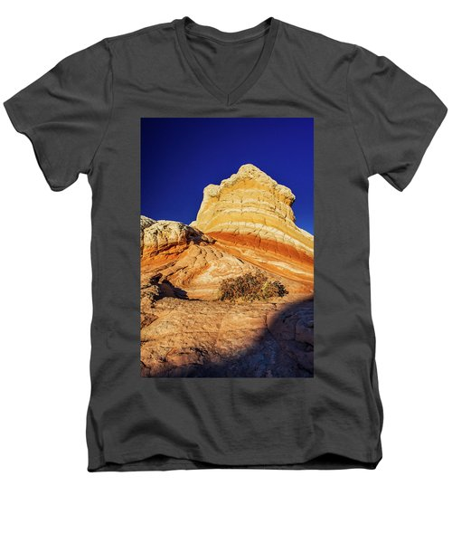 Men's V-Neck T-Shirt featuring the photograph Glimpse by Chad Dutson
