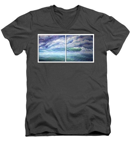 Gloria Men's V-Neck T-Shirt by William Love