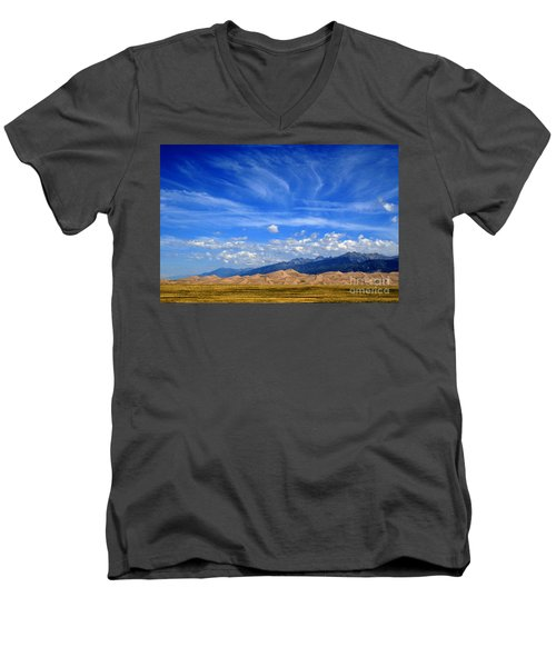 Men's V-Neck T-Shirt featuring the photograph Glorious Morning by Paula Guttilla