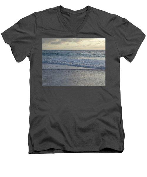 Glorious Sunrise Men's V-Neck T-Shirt by Margaret Brooks