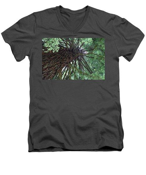 Glorious Tree  Men's V-Neck T-Shirt