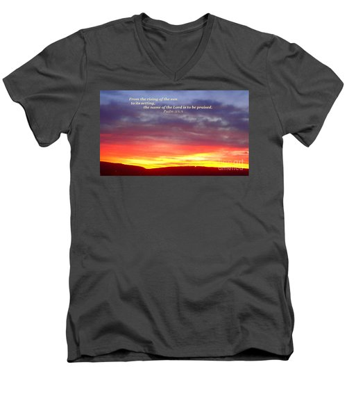 Glory And Praise  Men's V-Neck T-Shirt