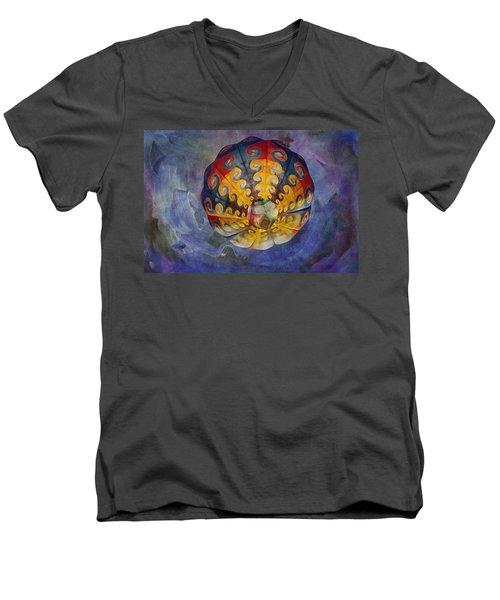 Glory Of The Sky Men's V-Neck T-Shirt
