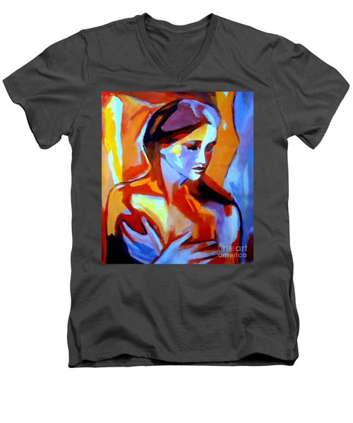 Glow From Within Men's V-Neck T-Shirt