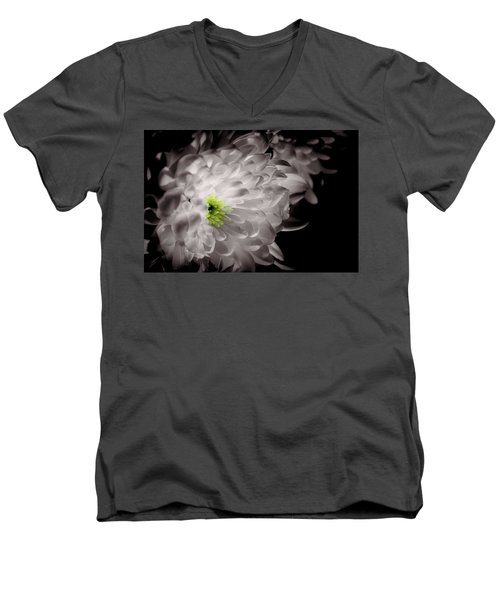 Glowing Men's V-Neck T-Shirt