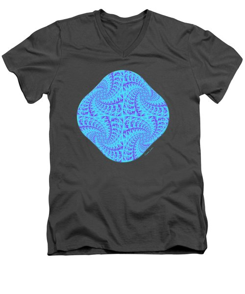 Glowing Moon Diamond Men's V-Neck T-Shirt