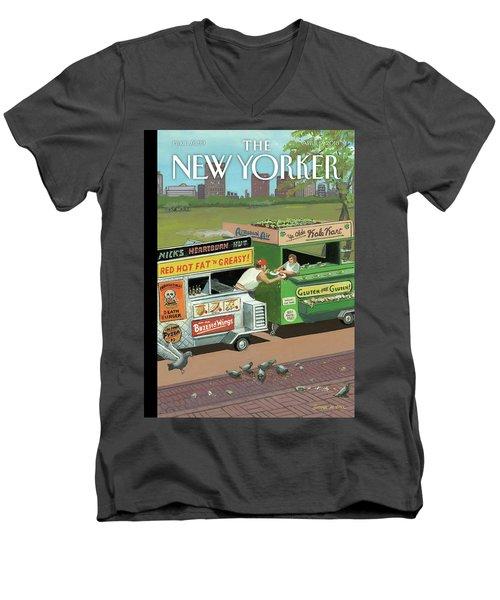 Gluten-free Gluten Men's V-Neck T-Shirt