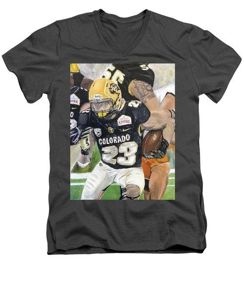 Go Buffs Men's V-Neck T-Shirt