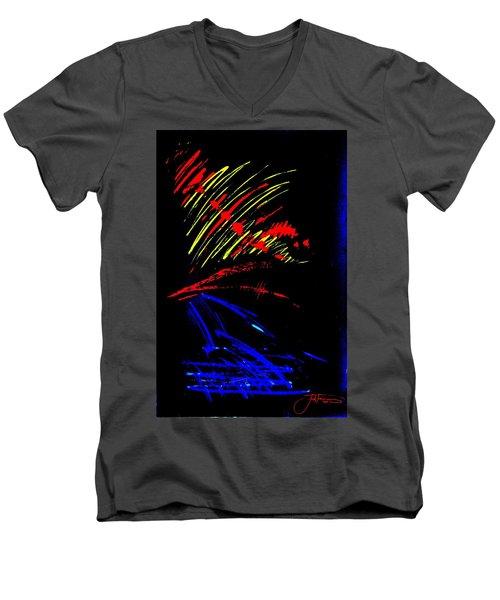 GO Men's V-Neck T-Shirt