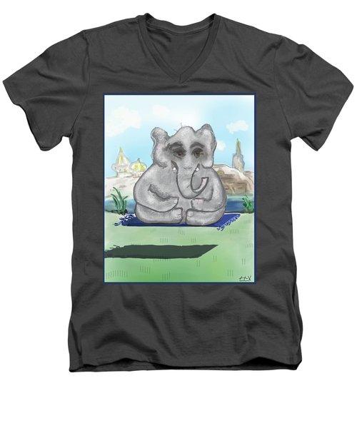 Go Zen, Baby Men's V-Neck T-Shirt