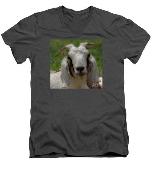 Goat 1 Men's V-Neck T-Shirt