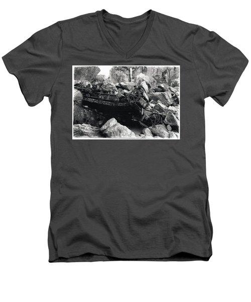 Goat Rock Tractor Jenner California Men's V-Neck T-Shirt
