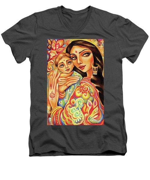 Goddess Blessing Men's V-Neck T-Shirt