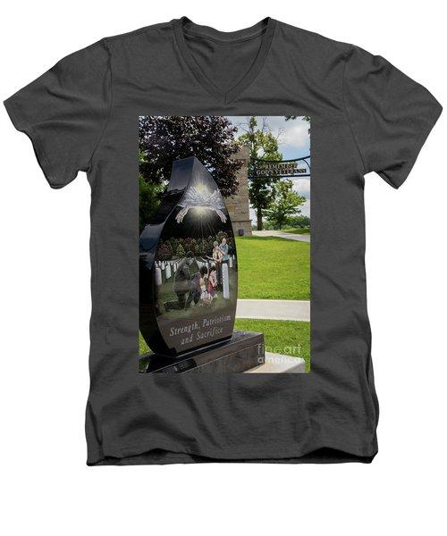 God's Veterans Men's V-Neck T-Shirt