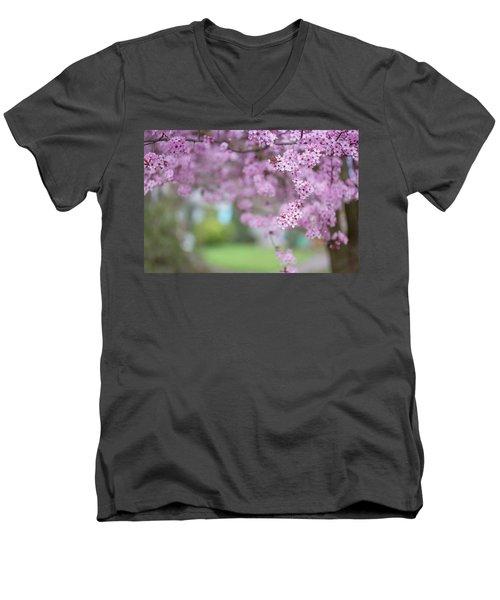 Going On A Limb Men's V-Neck T-Shirt