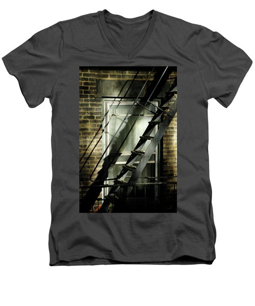 Going Up Men's V-Neck T-Shirt
